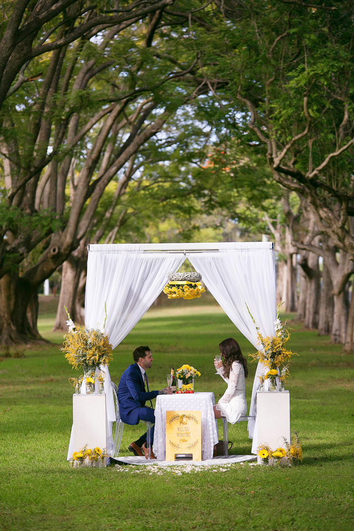 how to propose Brisbane