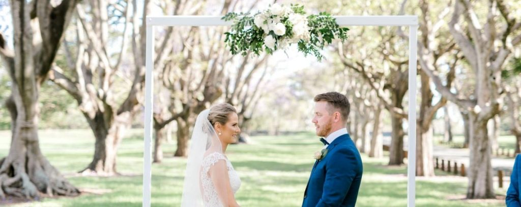 wedding arbour hire Brisbane