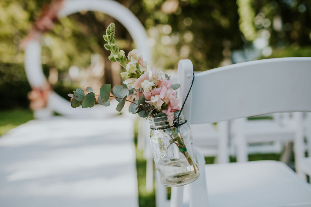 Brisbane wedding ceremony decor