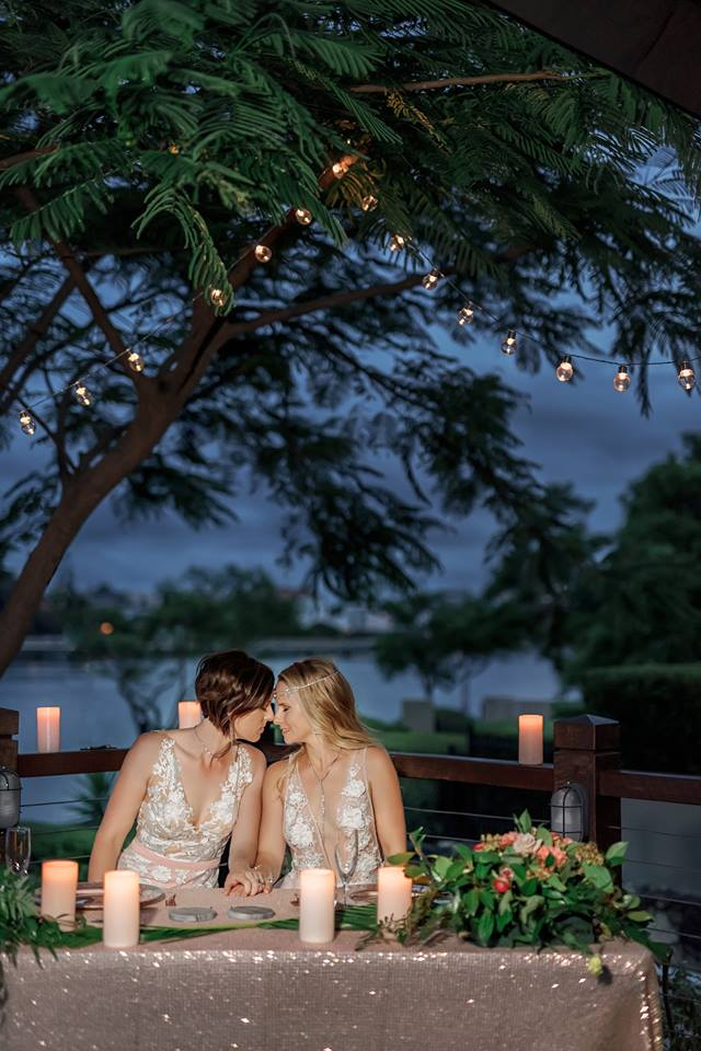 Brisbane equality friendly wedding reception venue