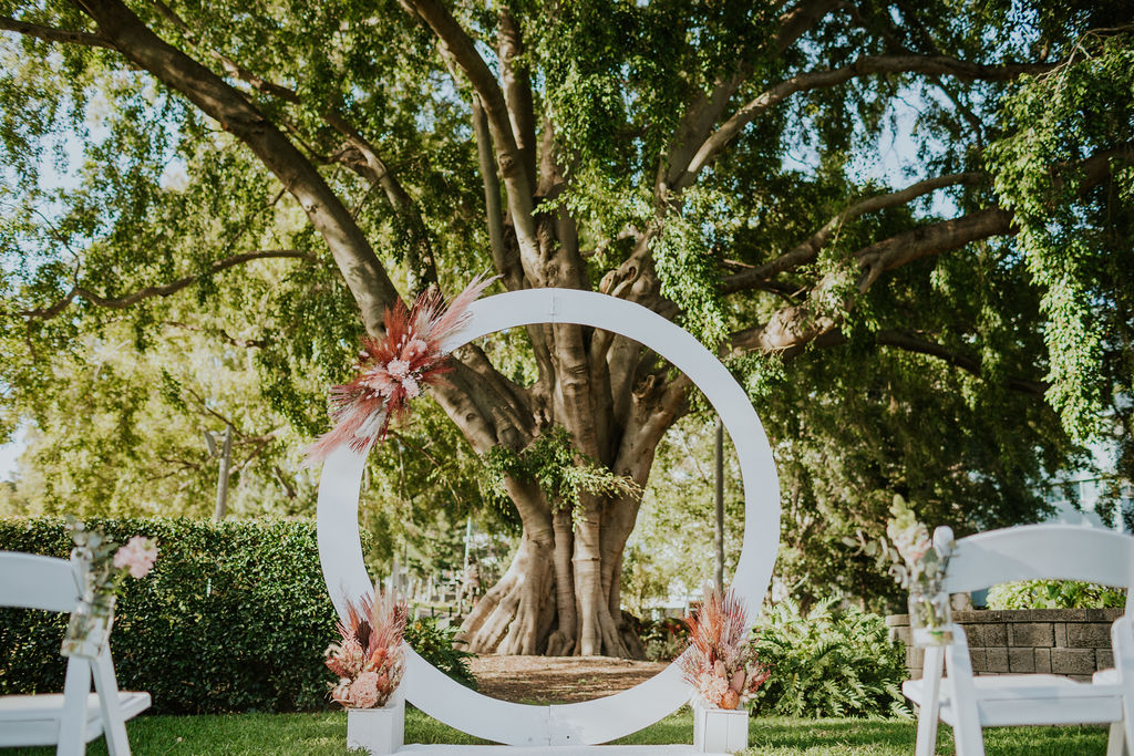 Roma Street park wedding photography
