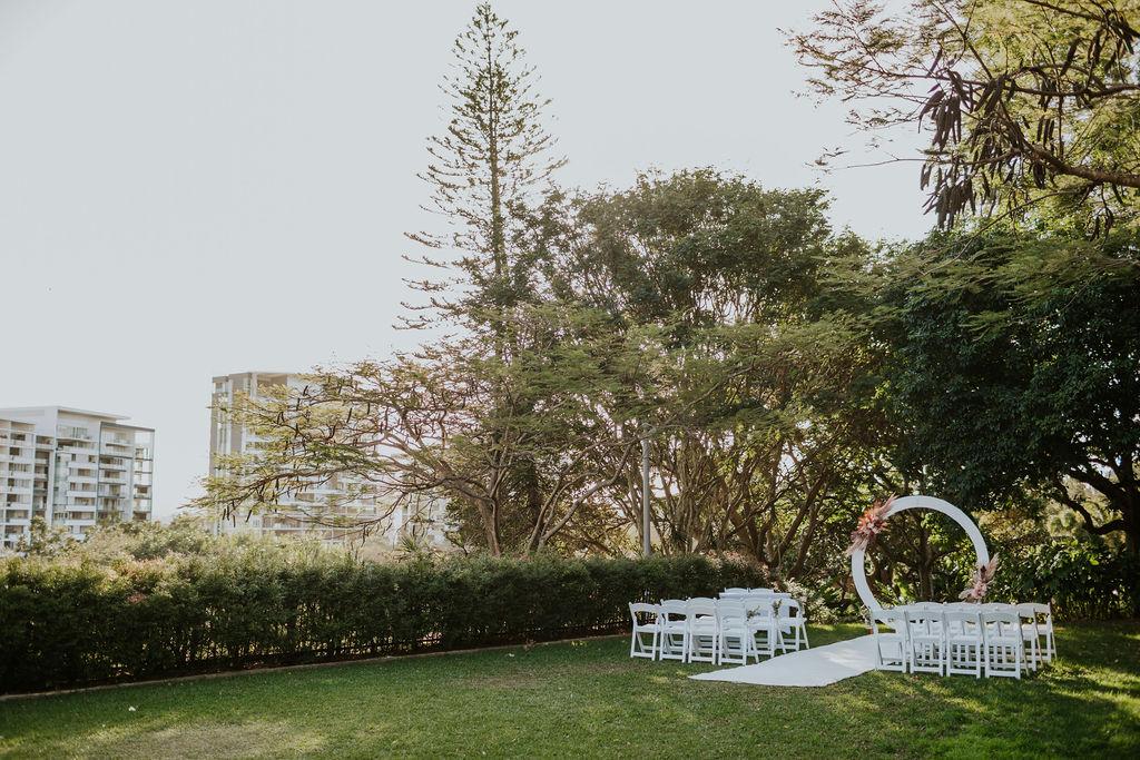 Wedding ceremony venue Brisbane city