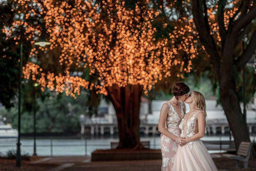 two brides wedding Brisbane