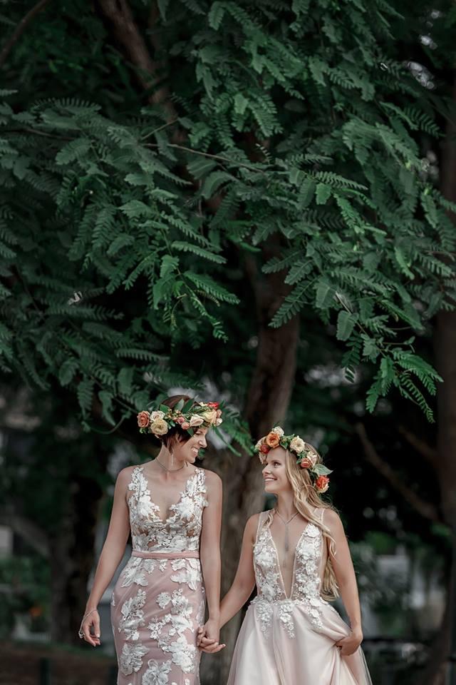 two brides wedding photography Brisbane