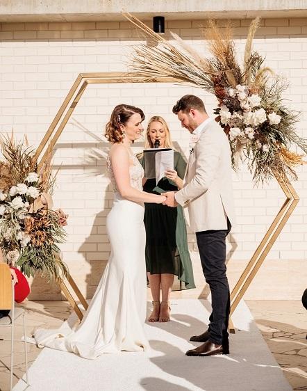 Calile wedding ceremony decor