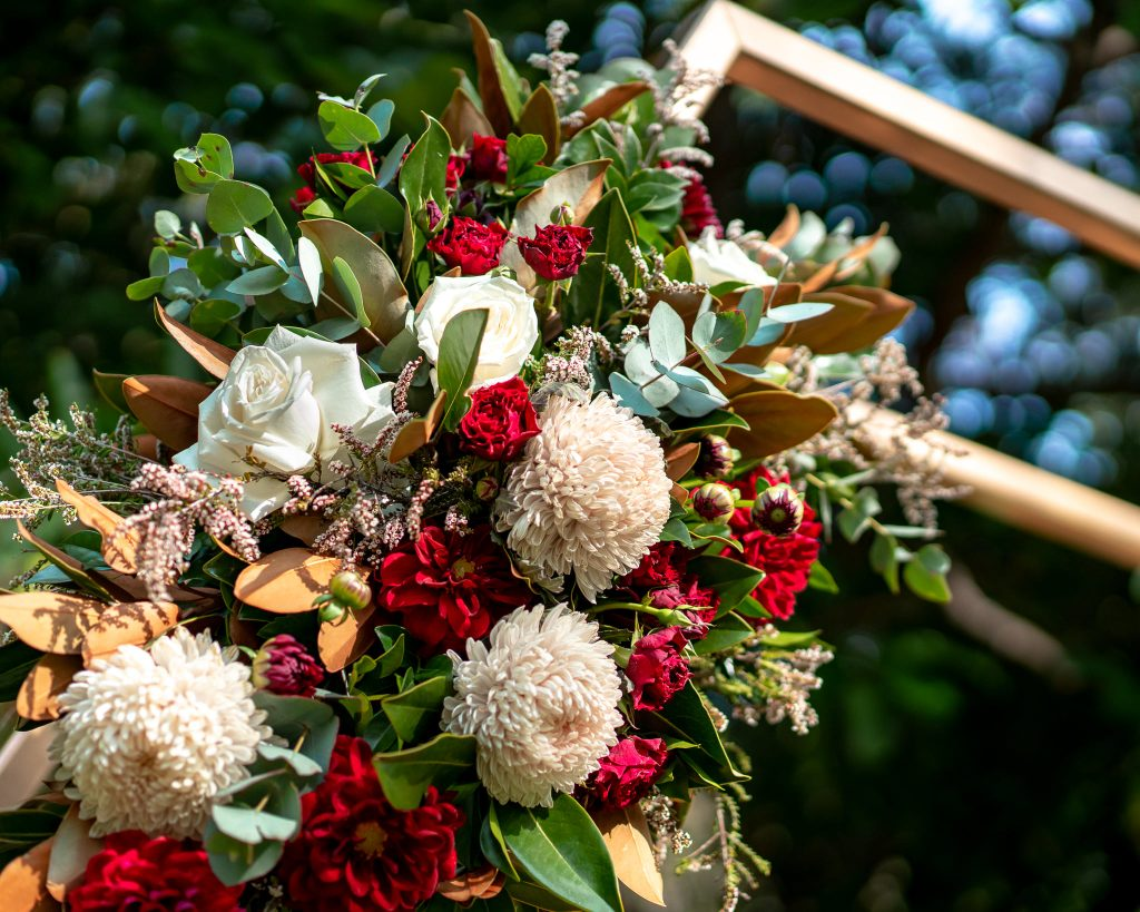 Lychee Lawn wedding decor Mt Coot-tha