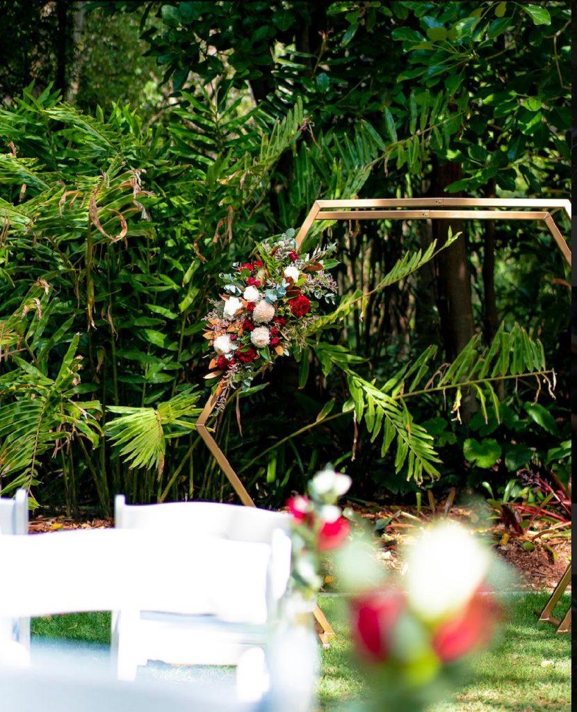 Lychee Lawn wedding styling Mt Coot-tha
