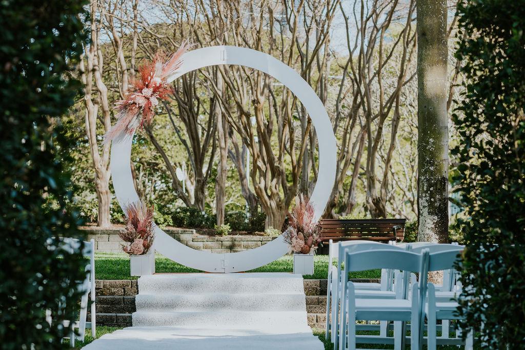Roma Street park wedding photos