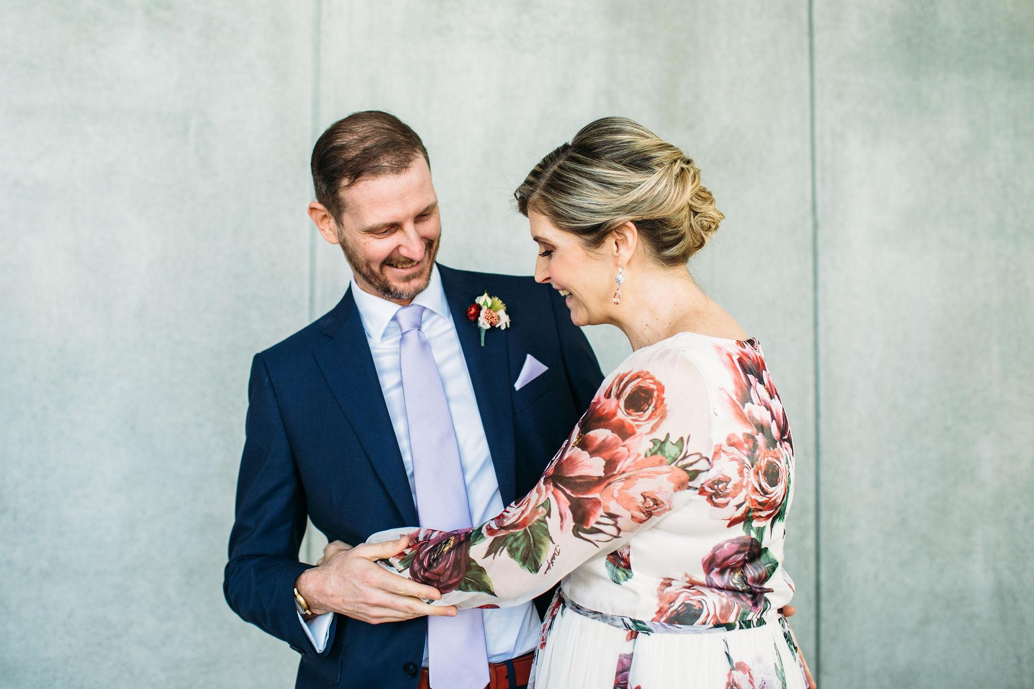 First look wedding Brisbane
