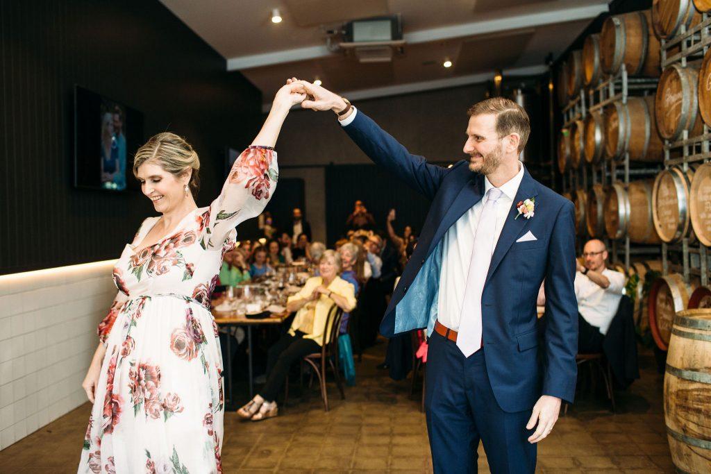 City Winery wedding reception