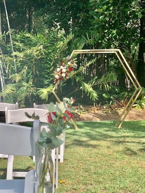 wedding Lychee Lawn Mt Coot-tha