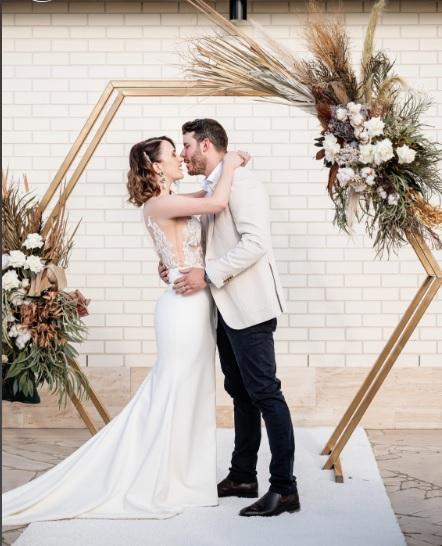 wedding arbour Calile Hotel