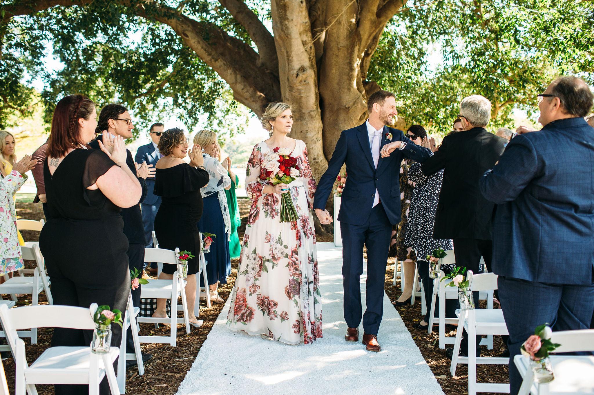 wedding at New Farm Park Brisbane