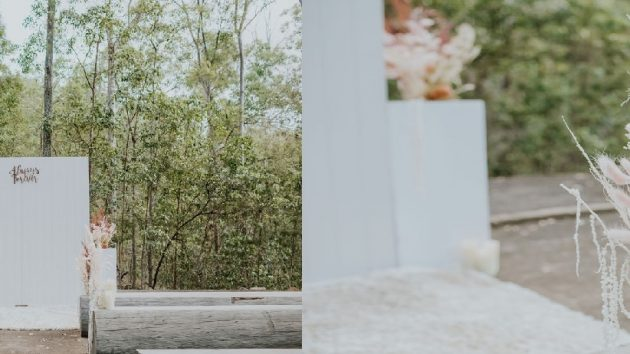 Brisbane styled wedding elopement