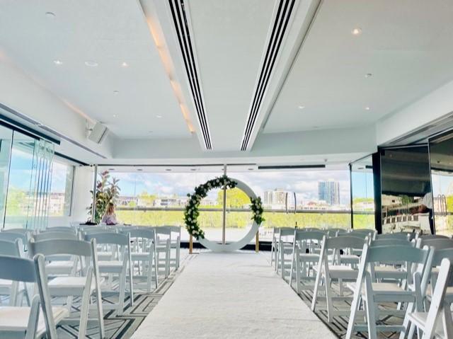 Blackbird wedding ceremony styling