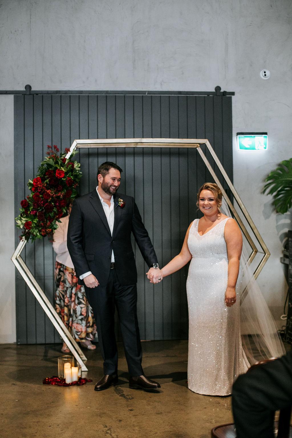 Luxe City Winery wedding