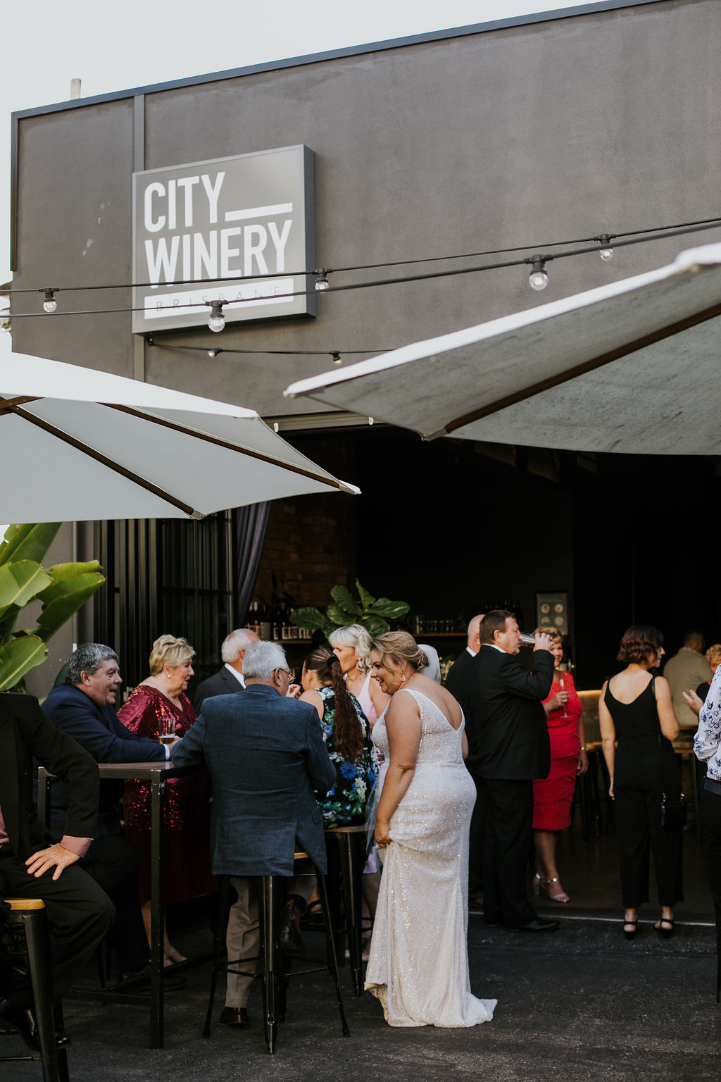 City Winery wedding Brisbane