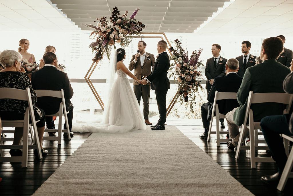 wedding arbour styling Brisbane