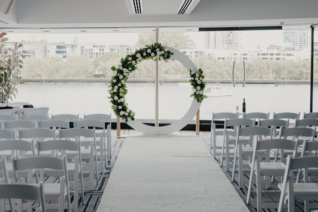 Blackbird Brisbane wedding ceremony