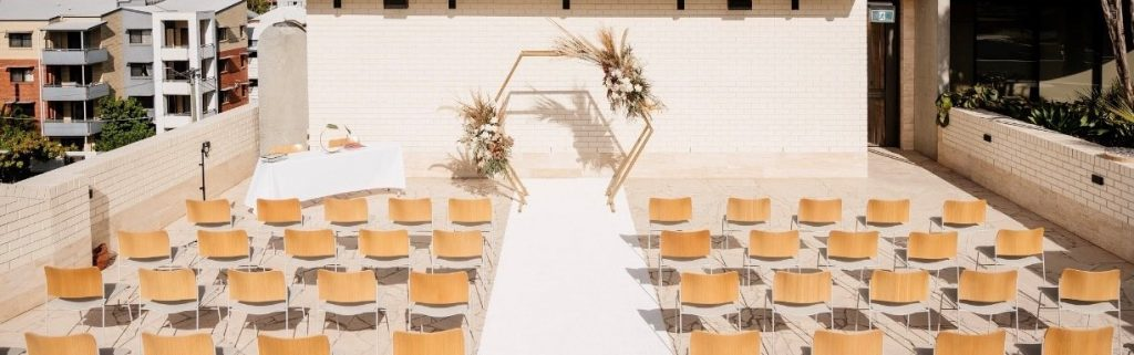 wedding ceremony styling Brisbane