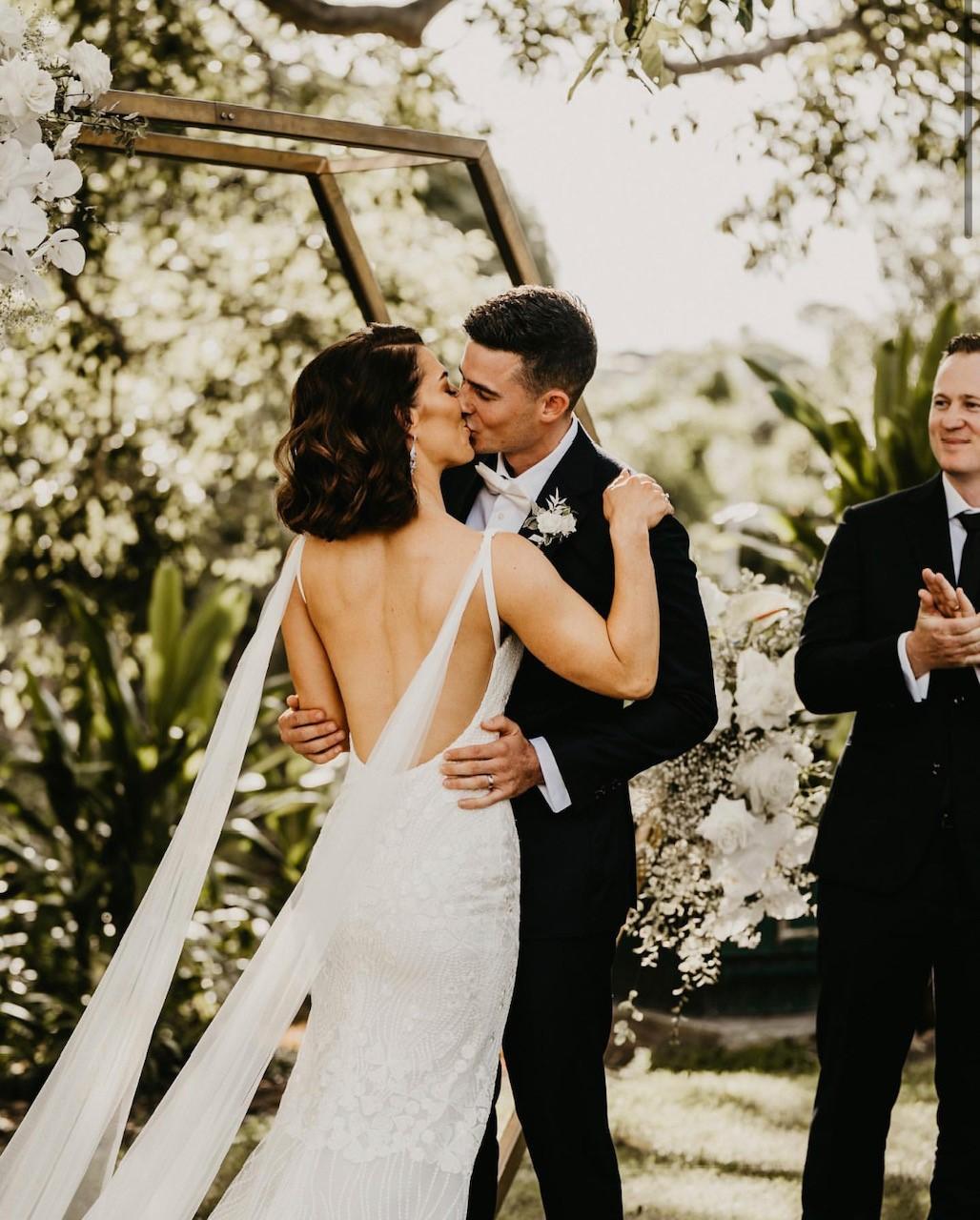 Roma Street Park wedding ceremony