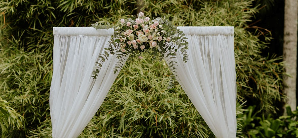 wedding arch flowers Brisbane