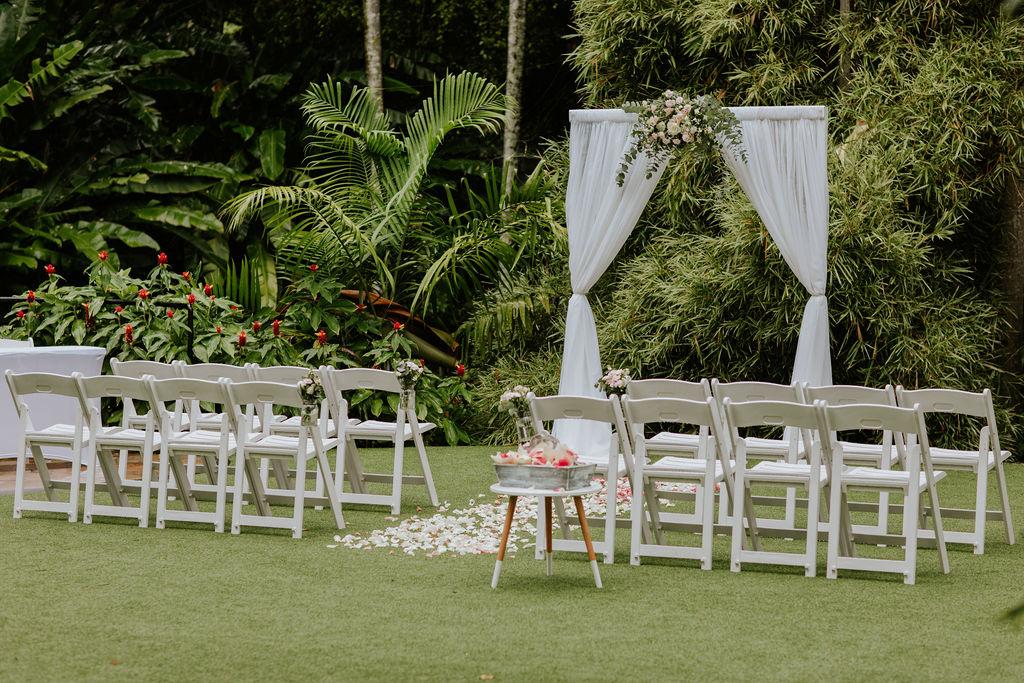 wedding arch hire Brisbane