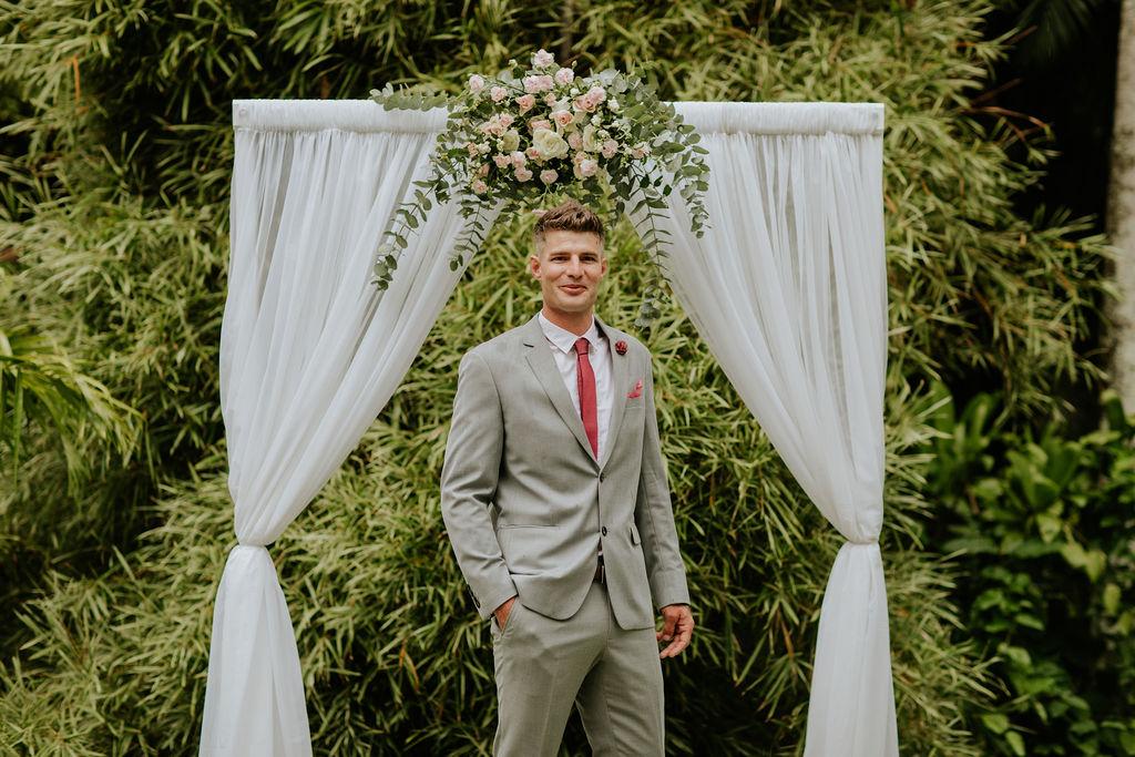 wedding arbour hire Brisbane