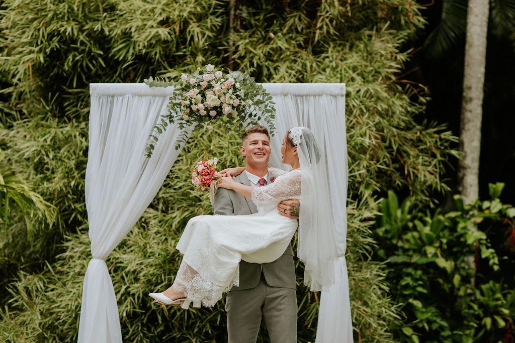 Mt Coot-tha wedding photos