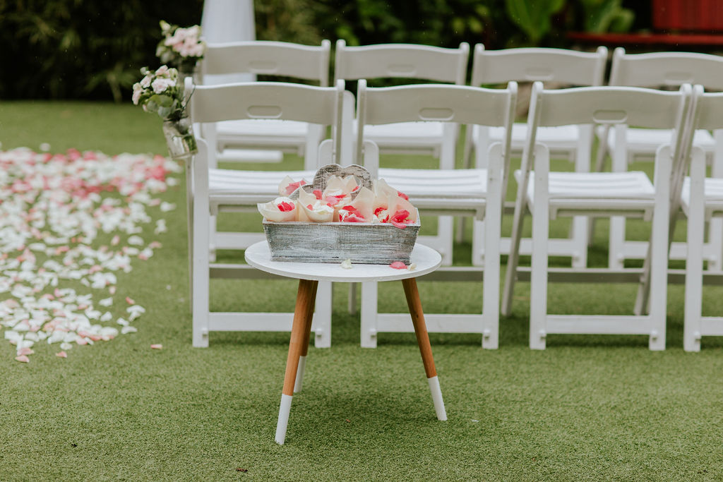 wedding styling Brisbane Botanic Gardens