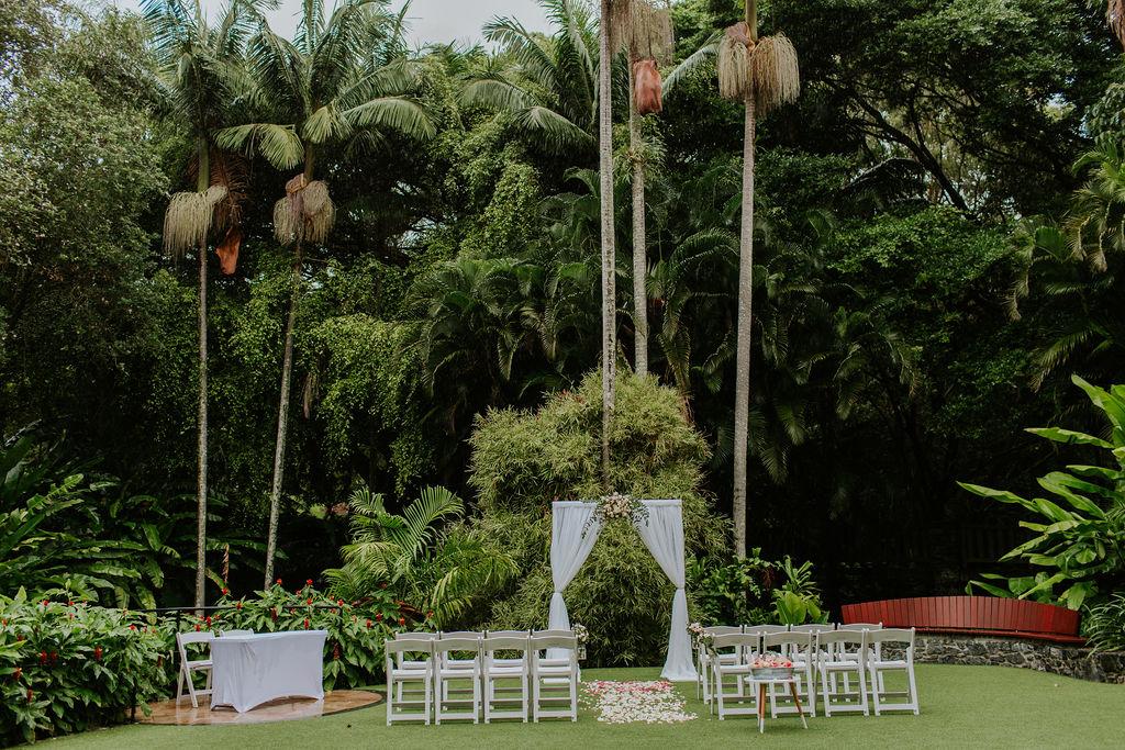 Mt Coot-tha Botanic gardens wedding