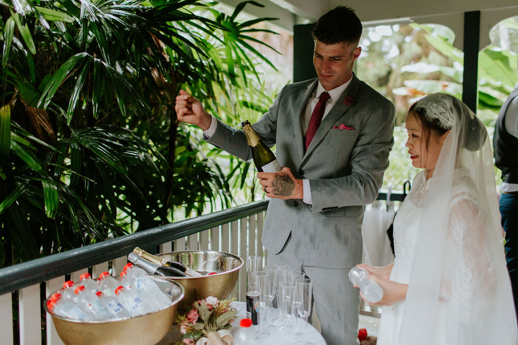 wedding ceremony drinks Brisbane