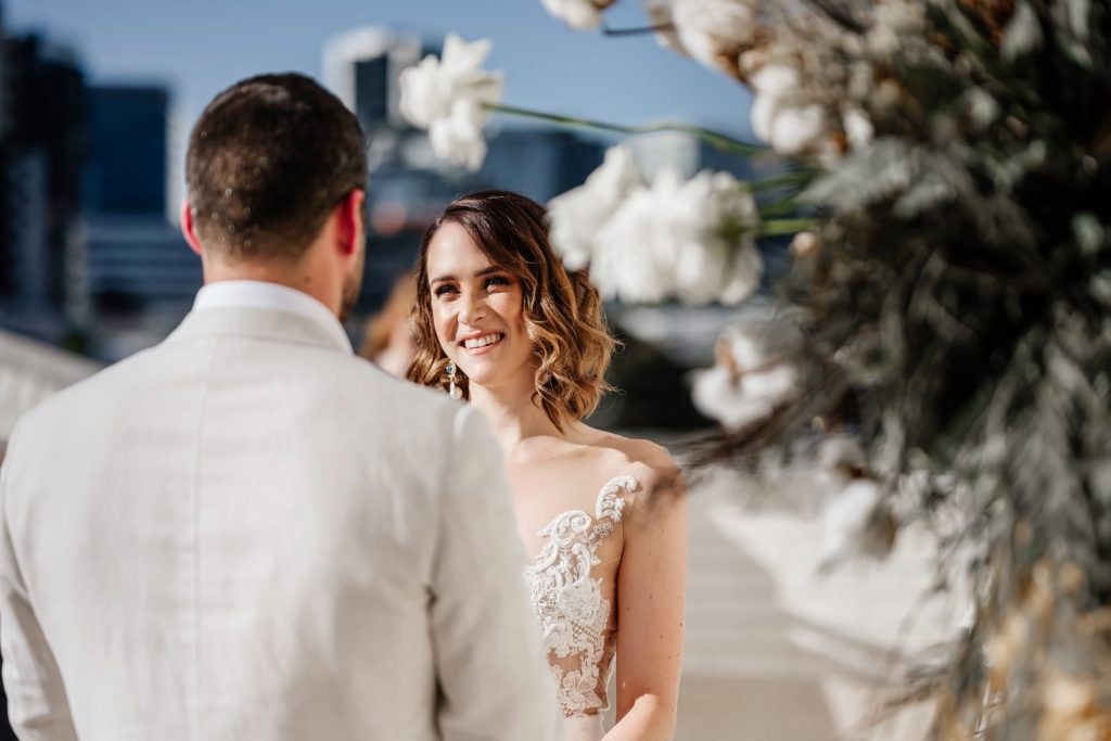 Calile hotel wedding ceremony photos