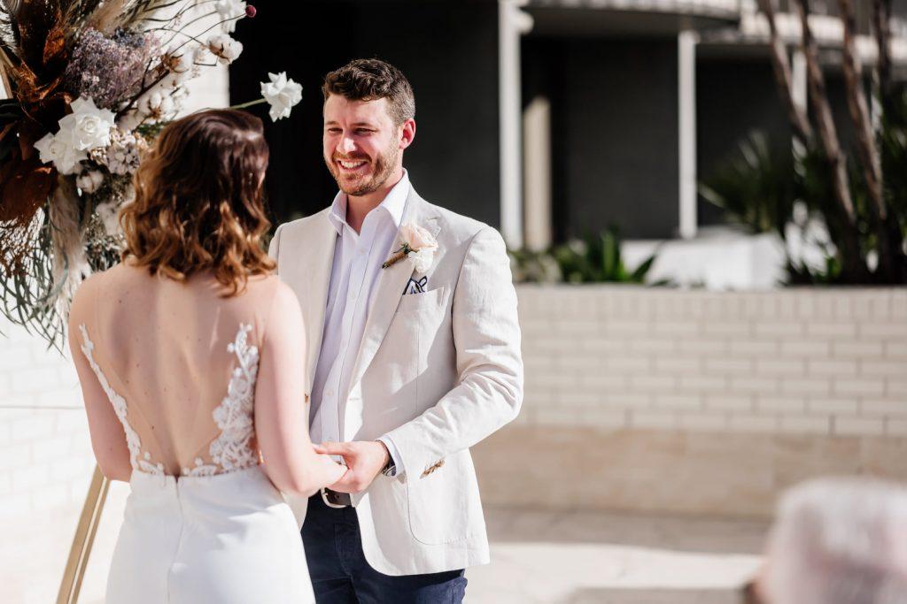 Calile hotel wedding ceremony style