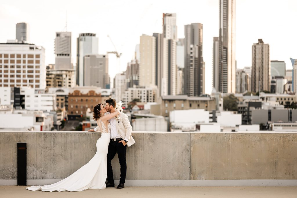 Calile hotel wedding rooftop