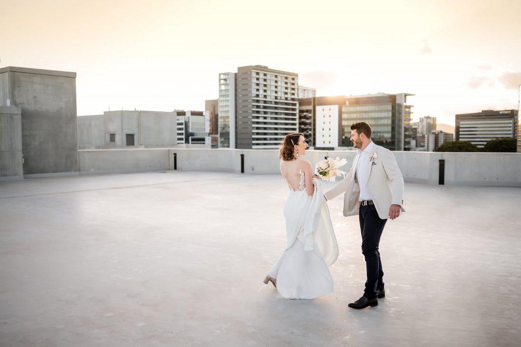 Calile hotel weddings rooftop