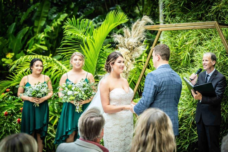 Botanic garden wedding Brisbane