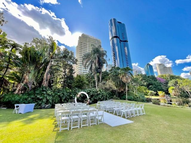 Brisbane City Botanic Gardens Wedding