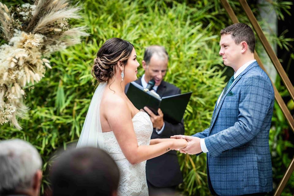 Mt Coot-tha Botanic wedding Brisbane