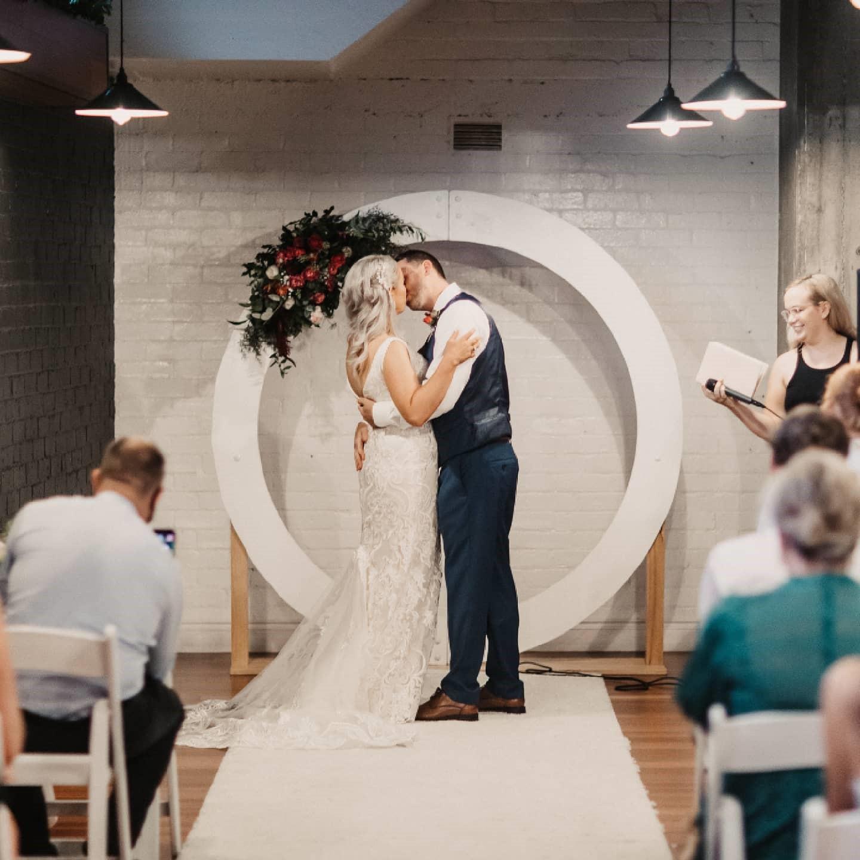 Newstead Underground wedding decor
