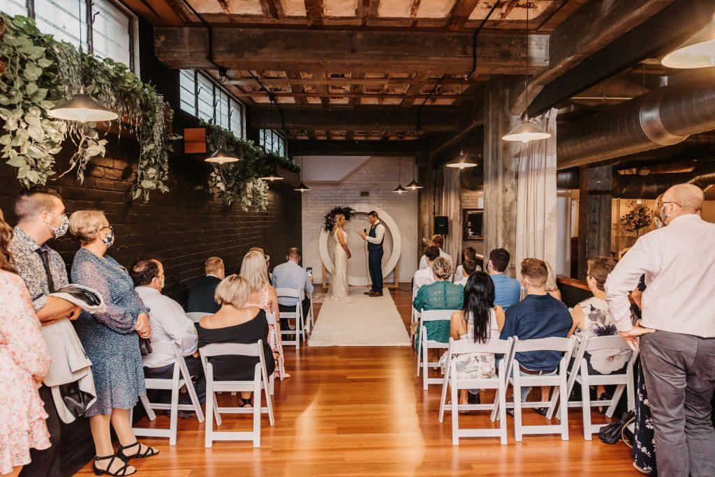 Newstead Underground wedding styling