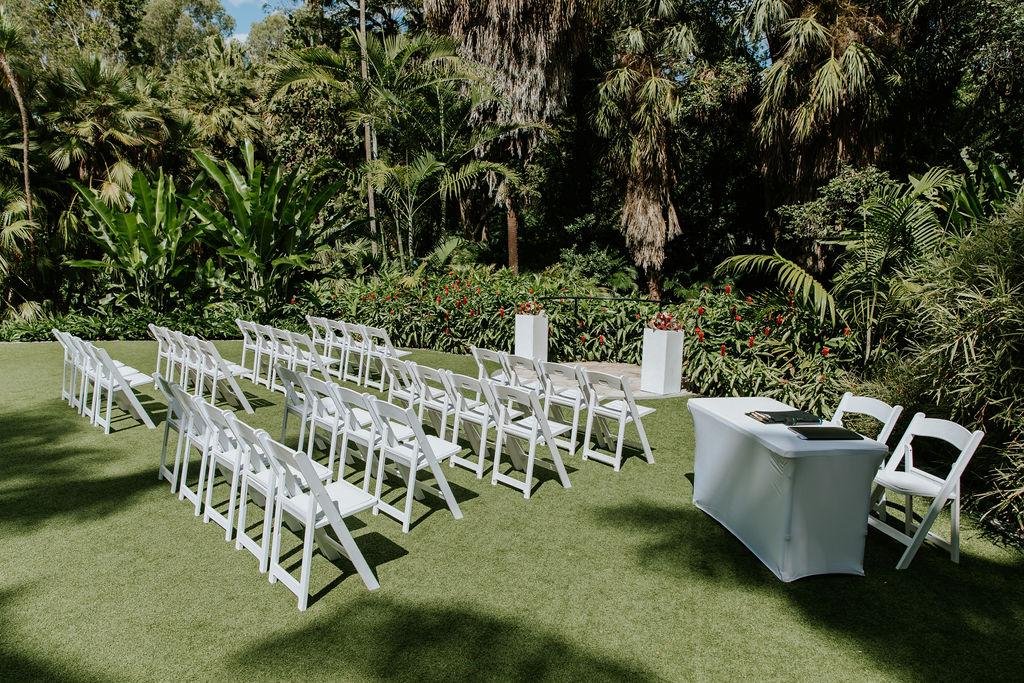 Wedding Mt Coot-tha Botanic gardens