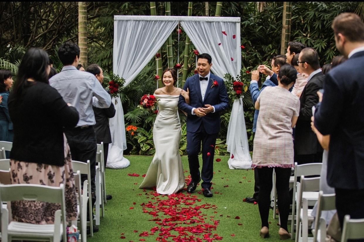 wedding decoration Mt Coot-tha