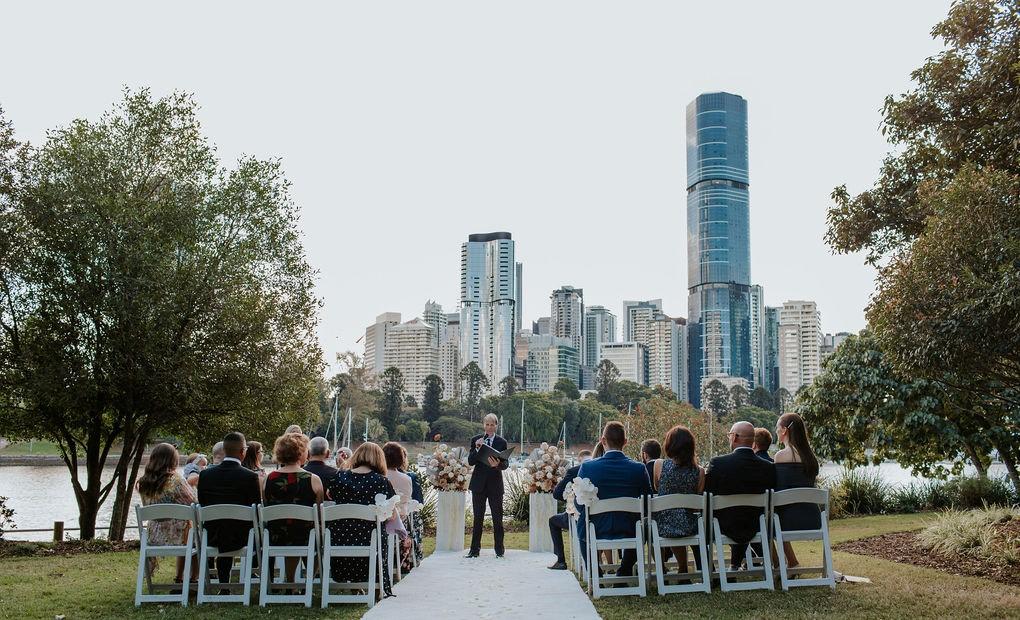 Brisbane wedding Celebrant Jamie Eastgate