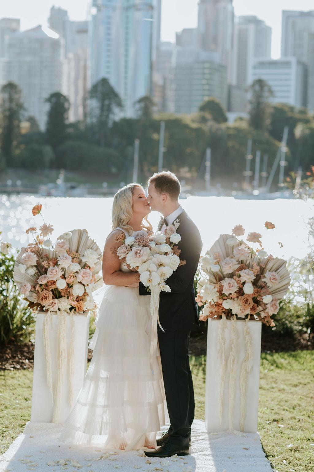 Lower River Terrace Wedding